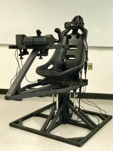VR Flight Simulation Chair